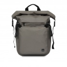 Knomo HAMILTON Water Resistant Roll Top Laptop Backpack 14inch - Khaki