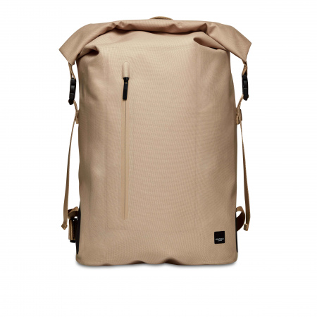 Knomo CROMWELLRoll Top  Backpack 14inch TPU Coated 600D - DESERT (Male)