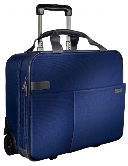 Leitz Complete Carry-On Trolley Smart Traveller - Titan Blue