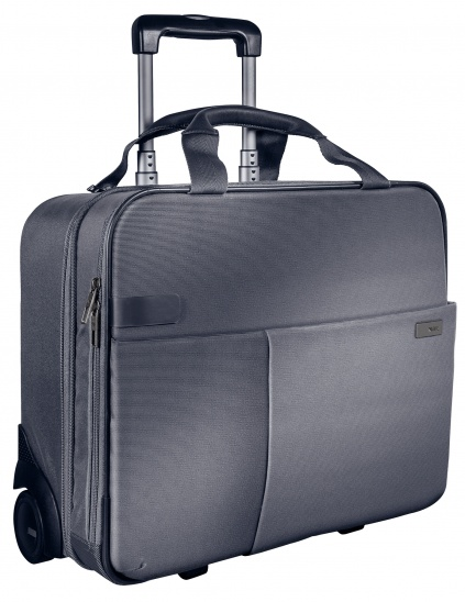 Leitz Complete Carry-On Trolley Smart Traveller - Silver