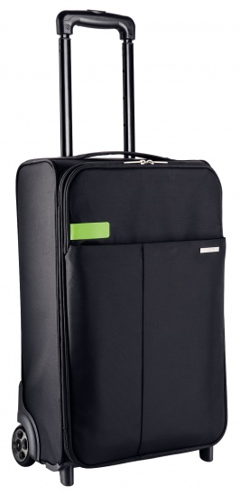 Leitz Complete 2-wheel Hand Luggage Trolley Smart Traveller - Black