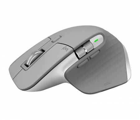 Logitech MX Master 3 Advanced Wireless Mouse - Mid-Grey