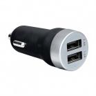Artwizz CarPlug Double autonabíječka pro smartphony/smarthodinky/tablety - alu/Bílá