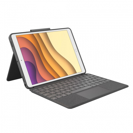 Logitech Combo Touch Premium keyboard case w Smart Connector & Trackpad for iPad Air (3rd Gen) - Graphite