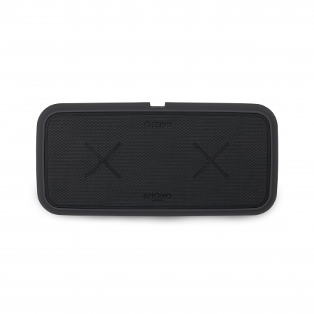 Knomo DUO POWER PAD Dual Device Fast Wireless Charger - Charcoal