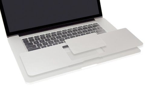 Moshi PalmGuard 13inch (Retina) w/ Trackpad Protector - Silver