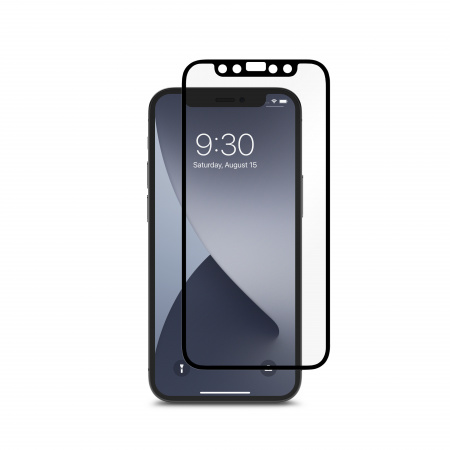 Moshi iVisor AG Anti-glare Screen Protector for iPhone 12 mini - Black