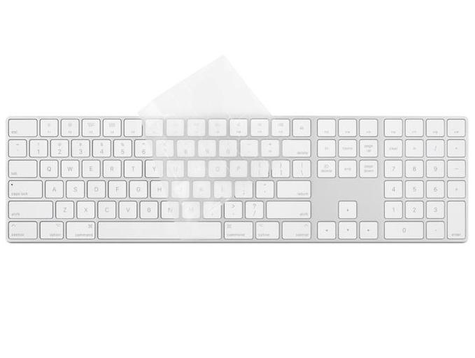 Moshi ClearGuard MK with numeric keypad (US layout) - Clear