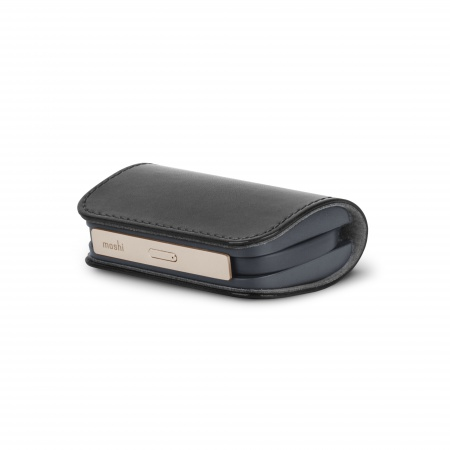 Moshi Ionbank 3K (3200 mAh) Lightning Soft vegan leather - Black