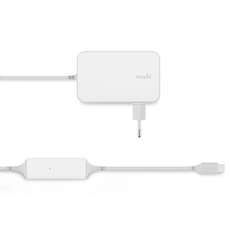 Moshi ProGeo USB-C Laptop Charger (65W)-EU - White