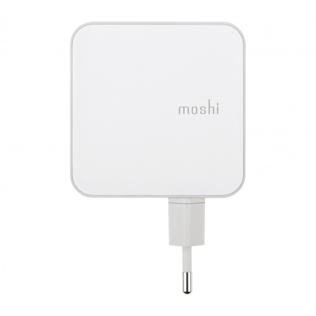 Moshi ProGeo 4-Port USB Wall Charger (35 W)-EU - white