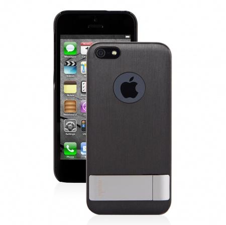 Moshi iGlaze Kameleon for iPhone SE/5s/5 - Black