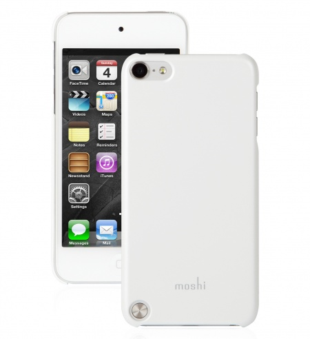 Moshi iGlaze touch G5 iPod Touch Snap-on Case - White