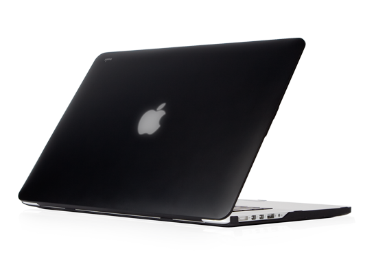 Moshi - iGlaze - HardShell Case for MacBook Pro 15R - Stealth Black
