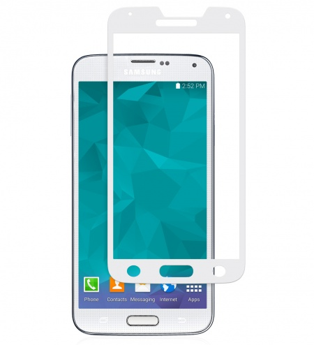 Moshi iVisor Glass for Galaxy S5 - White