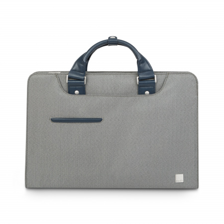 Moshi Urbana Laptop briefcases Navi - Herringbone Gray