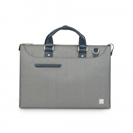 Moshi Urbana Laptop briefcases Lite - Herringbone Gray