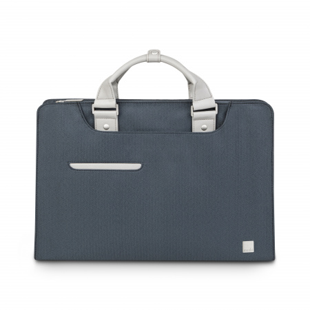 Moshi Urbana Laptop briefcases Navi - Herringbone Blue