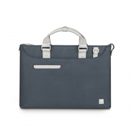 Moshi Urbana Laptop briefcases Lite - Herringbone Blue