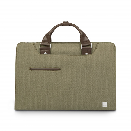 Moshi Urbana Laptop briefcases Navi - Herringbone Green