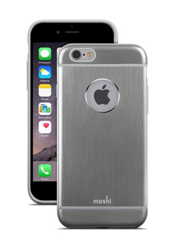 Moshi iGlaze Armour for iPhone 6 - Gunmetal Gray