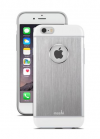 Moshi iGlaze Armour for iPhone 6 - Jet Silver