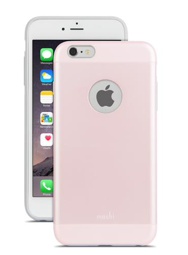 Moshi iGlaze for iPhone 6 Plus - Carnation Pink