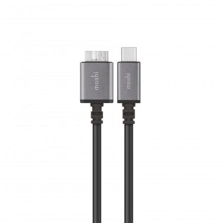 Moshi USB-C to Micro-B cable - Black