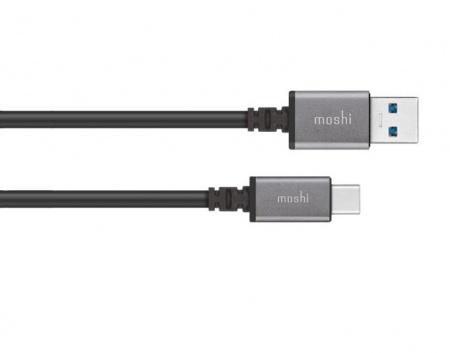 Moshi USB-C to USB Cable 3.3 ft (1m) - Black