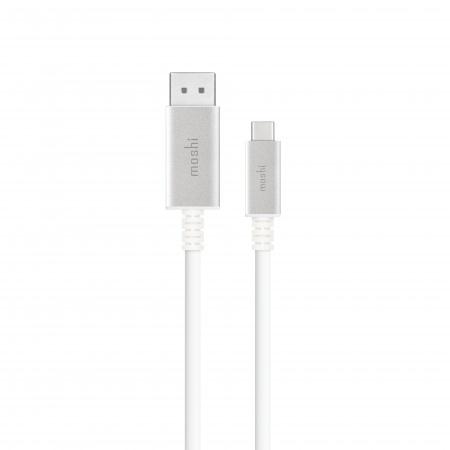 Moshi USB-C to DisplayPort Cable - White