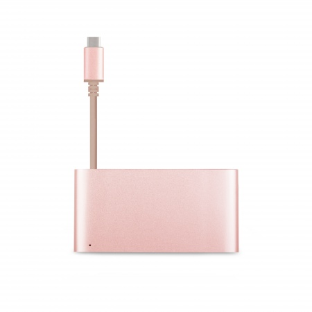 Moshi USB-C Multiport Adapter - Golden Rose