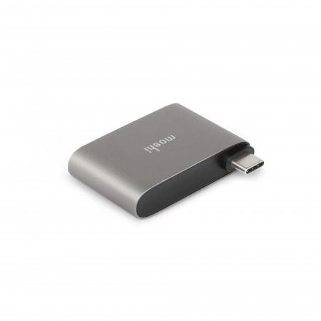Moshi USB-C to Dual USB-A Adapter - Titanium Gray