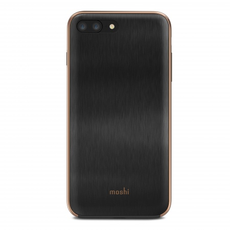 Moshi iGlaze for iPhone 8 Plus/7 Plus - Armour Black
