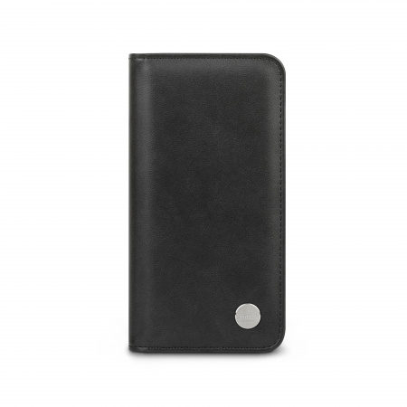 Moshi Overture Case w Detachable Magnetic Wallet for iPhone 12 mini (SnapToª) - Jet Black