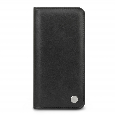 Moshi Overture Case w Detachable Magnetic Wallet for iPhone 12 Pro Max (SnapToª) - Jet Black