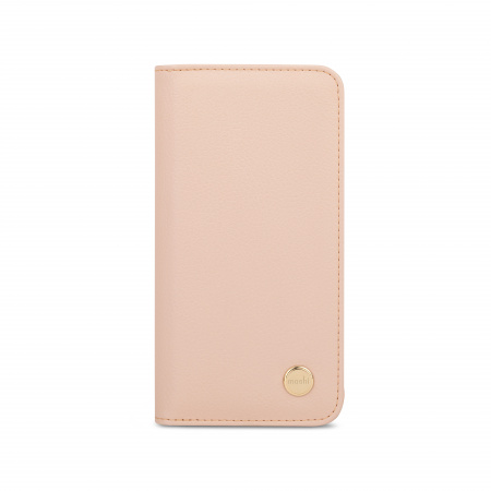 Moshi Overture Case w Detachable Magnetic Wallet for iPhone 12 mini (SnapToª) - Pink