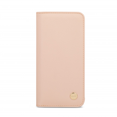 Moshi Overture Case w Detachable Magnetic Wallet for iPhone 12/12 Pro (SnapToª) - Pink