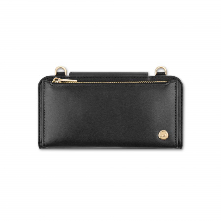 Moshi SnapToª Crossbody Wallet All-in-one carrying wallet - Jet Black