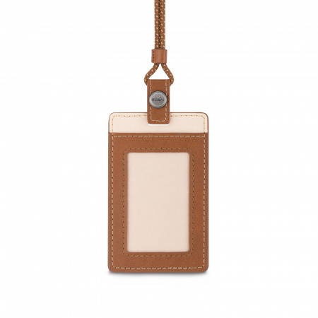 Moshi ID/Badge Holder - Caramel Brown