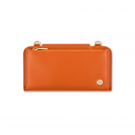 Moshi SnapToª Crossbody Wallet All-in-one carrying wallet - Sienna Orange
