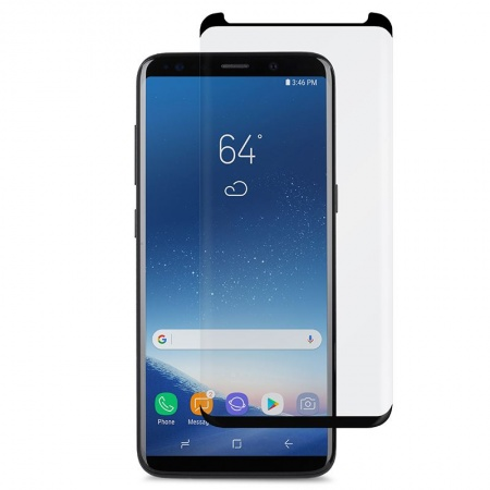 Moshi IonGlass for Galaxy S9 - Black (Clear/Glossy)