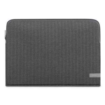 Moshi Pluma Laptop Sleeve for 15inch/16inch MacBook Pro - Herringbone Gray