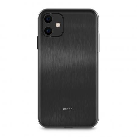 Moshi iGlaze for iPhone 11 (SnapToª) - Armour Black