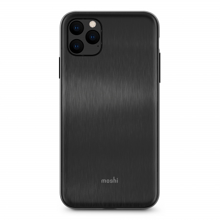 Moshi iGlaze for iPhone 11 Pro Max (SnapToª) - Armour Black