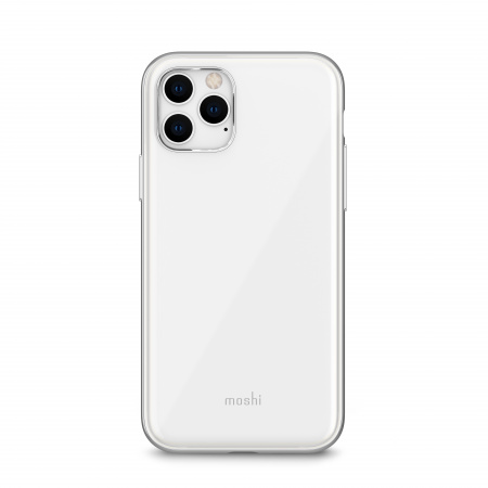 Moshi iGlaze for iPhone 11 Pro (SnapToª) - Pearl White