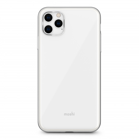 Moshi iGlaze for iPhone 11 Pro Max (SnapToª) - Pearl White