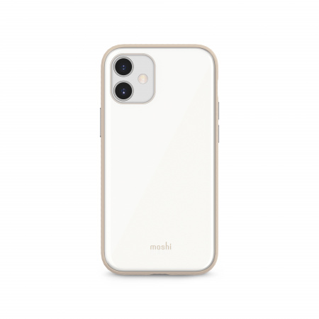 Moshi iGlaze Slim Hardshell Case for iPhone 12 mini (SnapToª) - White