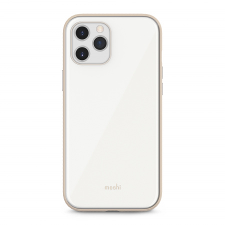 Moshi iGlaze Slim Hardshell Case for iPhone 12 Pro Max (SnapToª) - White