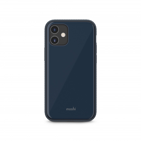 Moshi iGlaze Slim Hardshell Case for iPhone 12 mini (SnapToª) - Blue
