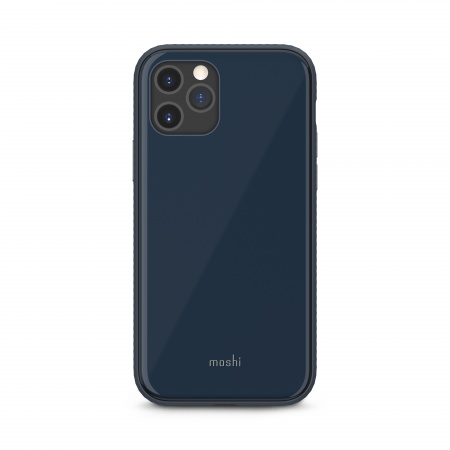 Moshi iGlaze Slim Hardshell Case for iPhone 12/12 Pro (SnapToª) - Blue
